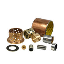 oil sintered copper bearing/split flange oilless wrapped brass bush/cast bronze sleeve, slide bimetal bush