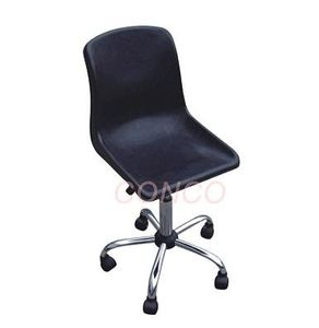 Clean Room ESD Conductive Plastic Laboratory Black Chair