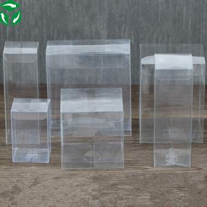 zhongshan Packaging manufacturer plastic clear PVC PET acetate box