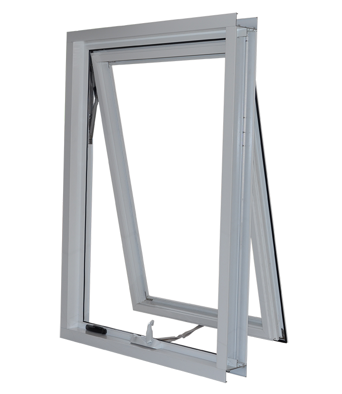Double glazing window for mobile home / awing window chain winder / australian standard awing window