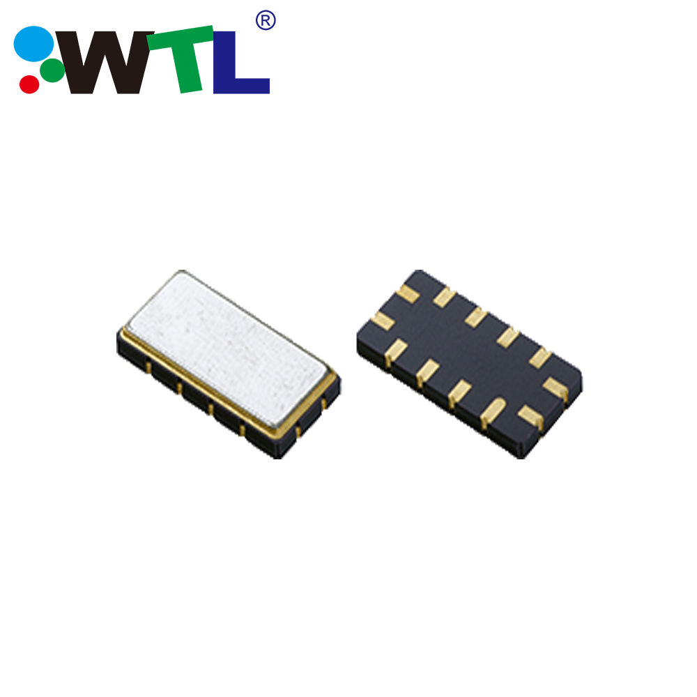 WTL 13.30x6.50x1.80mm 12-SMD Saw Filter 125MHz