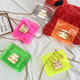 KS0203 Fashionable candy color girls sling bag clear pvc crossbody bag