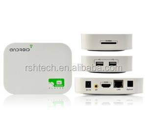 A20 Smart Media Player HD Multimedia Home Center Android Smart TV preinstalado vidonme 3D y BD ISO Android 4.2 IPTV caja
