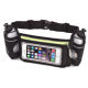 Running two bottle waist pack hydration running belt with bottle holder