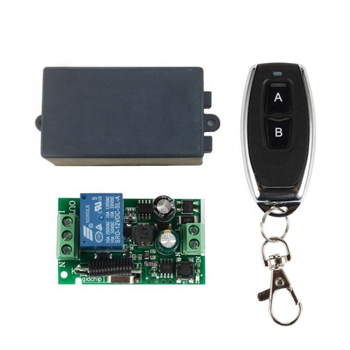 433Mhz Universal Wireless Remote Control Switch AC 85V 110V 220V 1CH Relay Receiver Module RF 433 Mhz Remote Controls