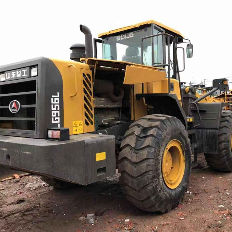 New Construction Machine Heavy Equipment SOLG956 5ton Lingong Used Wheel Loader