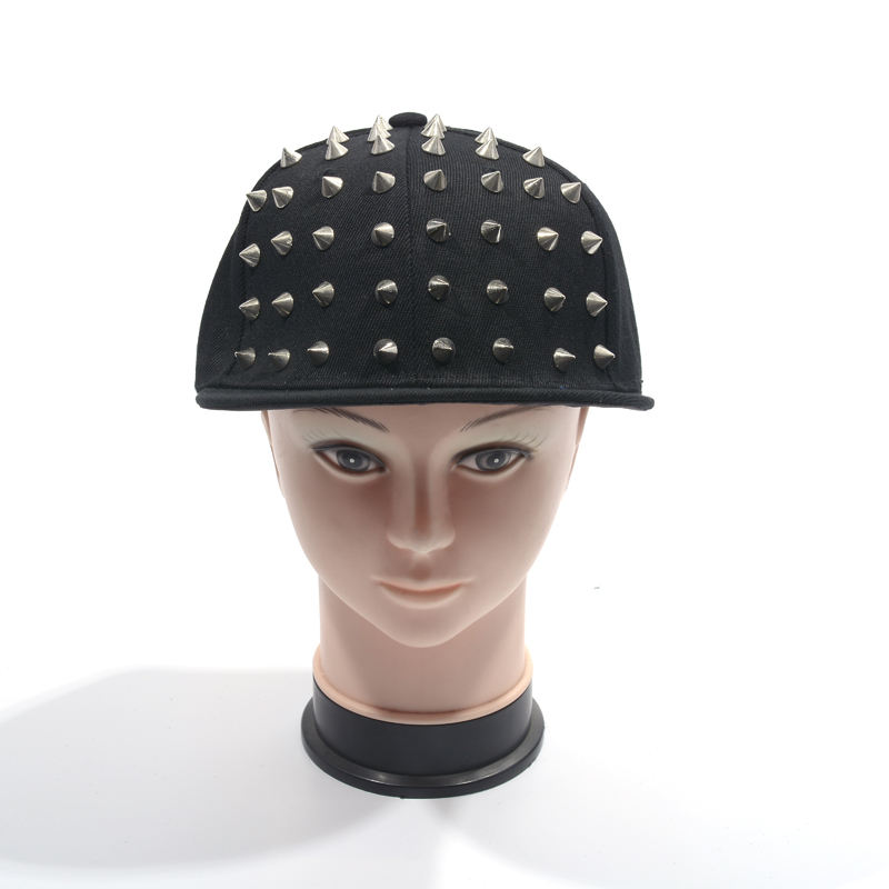 <span class=keywords><strong>Spike</strong></span> Klinknagel Spiky Stud <span class=keywords><strong>Cap</strong></span> Punk Studded Snapback Hip-Hop Hoed