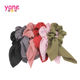 Yane Fashion hair band pure color knot the ear hair scrunchies for girls
