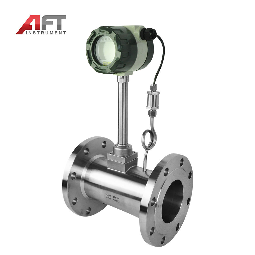 Factory Outlet Heat transfer oil Biogas air steam Vortex flowmeter