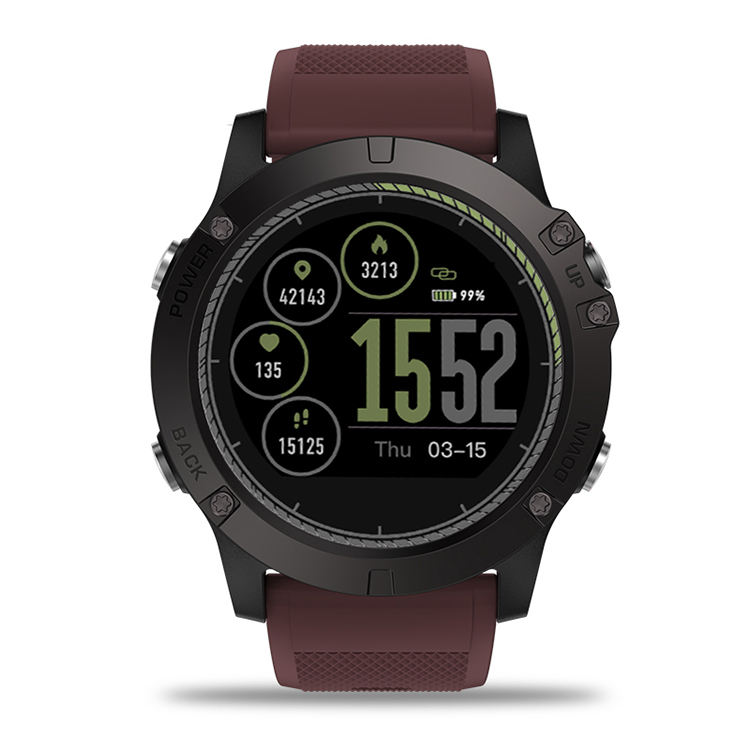 VIBE 3 HR IP67 Waterproof Heart Rate Monitor Smart Watch for Android