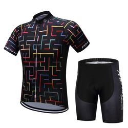 2019 New Cycling Jersey Set Summer Short Sleeve Cycling Clothing Ropa Ciclismo Maillot Ropa Uniformes Hombre