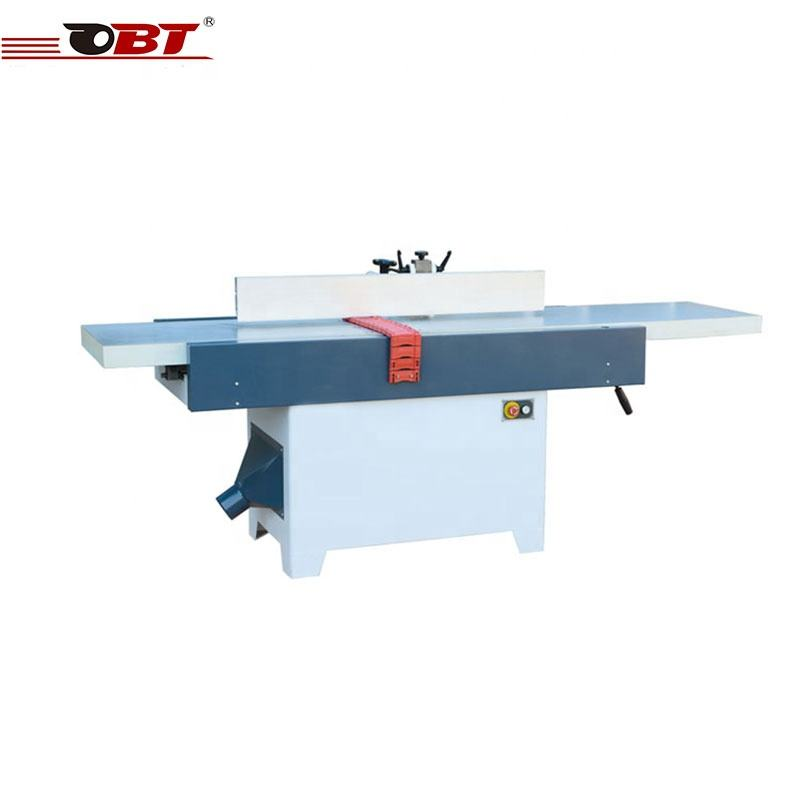 High efficient hand surface woodworking base level surface planing machine
