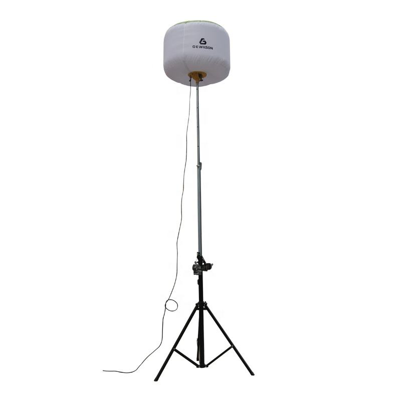 Balloon tripod Pneumatic light tower 3*1000w metal halide lamp