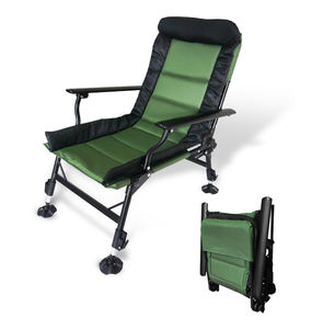 Recliner Fishing Chair Padded Folding Chair Alu Chair