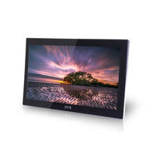 "65"" wall mount touch screen interactive advertising player"