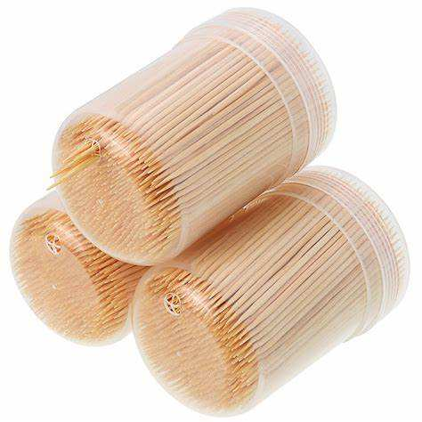 Taiwan Price Packaging Wrap Paper Wholesale With Cover Wooden Toothpick