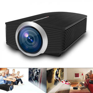 YG500 Mini Projector 1080P home theater 5.1 Portable 1200Lumen LED Projector Home Cinema USB HD 3D Beamer Bass Speaker Project