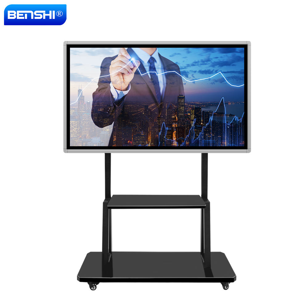 Touch waterdichte 50 55 60 65 75 inch screen walking interactieve digitale whiteboard met andriods/windows os voor school meeting