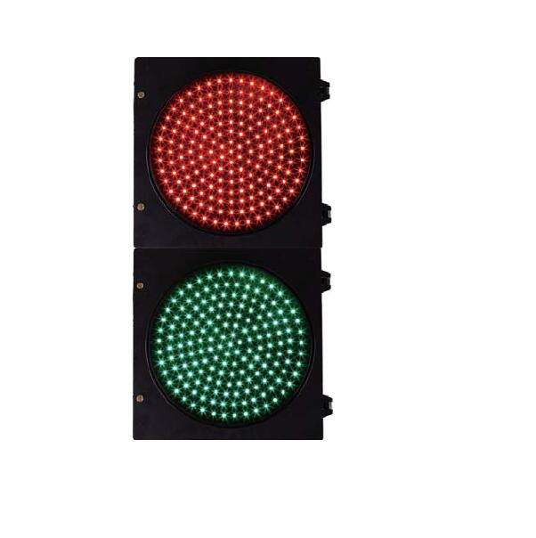 red green LED traffic light of 300 200mm for road system