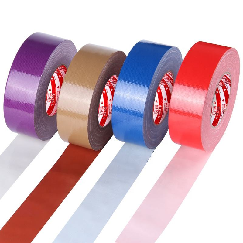 50m branded cloth tape jumbo roll Cloth duct tape