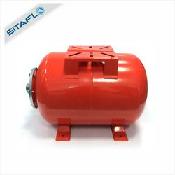 Steel horizontal water pump pressure tank