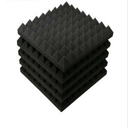 Pyramid-shaped acoustic foam sound absorbing panel PU foam