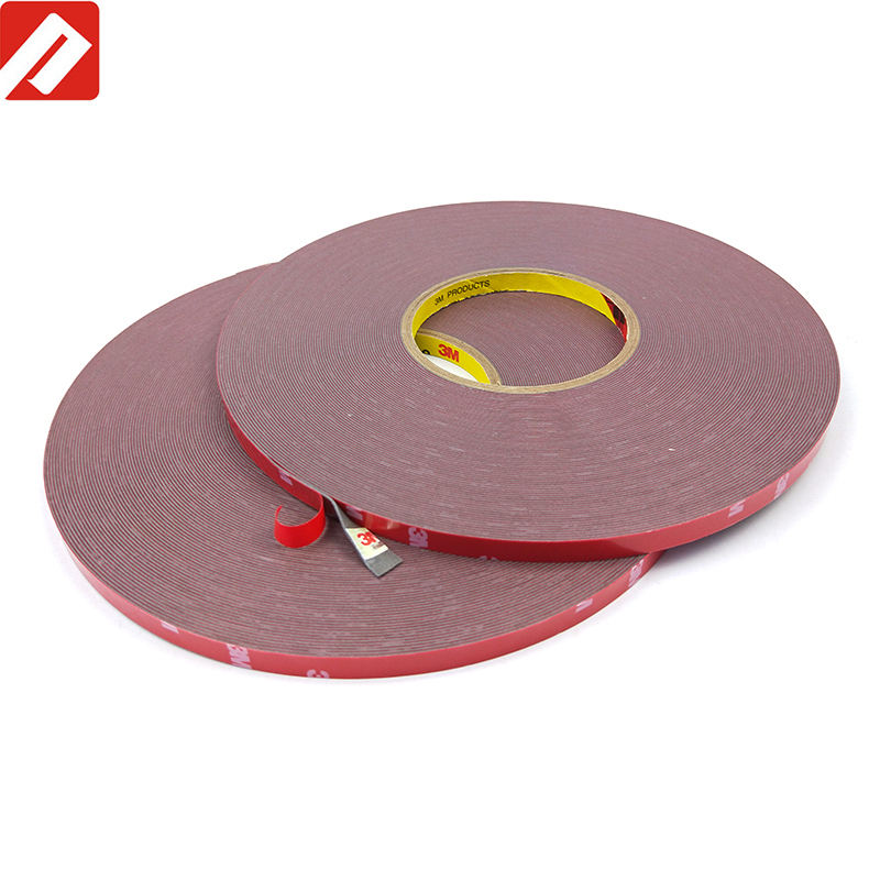 3M 4229P Auto double sided acrylic adhesive foam tape for plastic/steel 8mm*33M