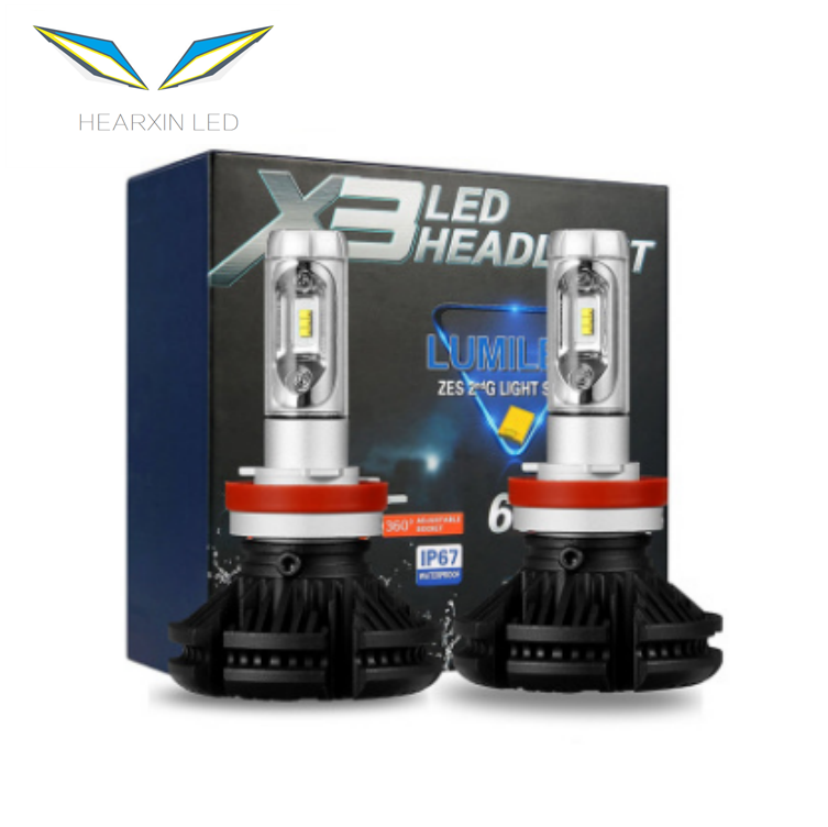 Car parts LED H7 headlights bulb