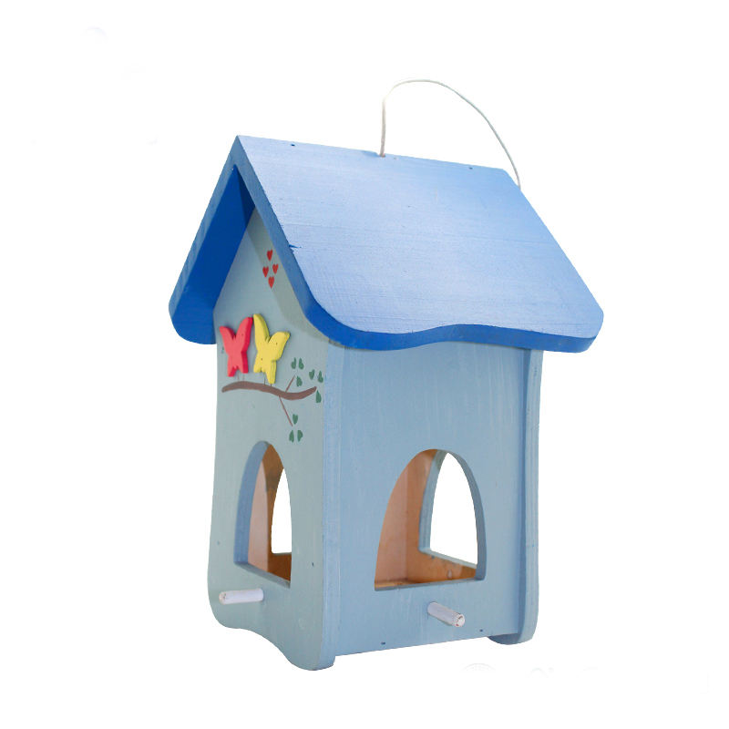 ขายร้อน woodbutterfly shape bird house & bird nest