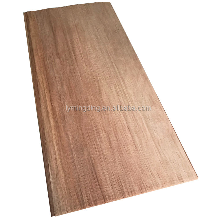 China famous paper thin dyed wood veneer sheets/plb face veneer