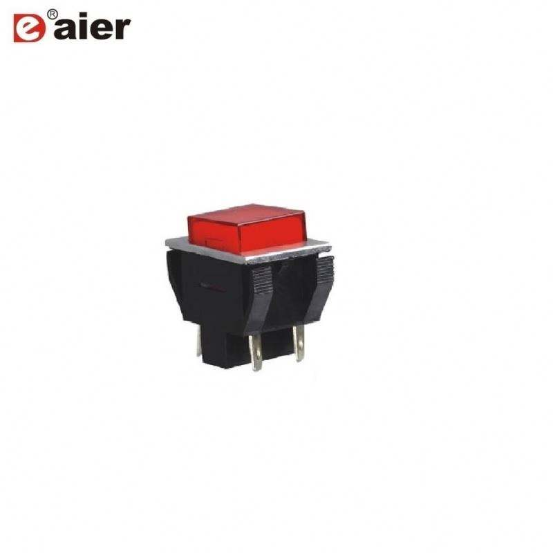 DPST 4 Pin LED Wireless Push Button Switch