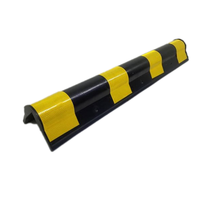 Low price 800mm round rubber wall bumper guard for carport safety