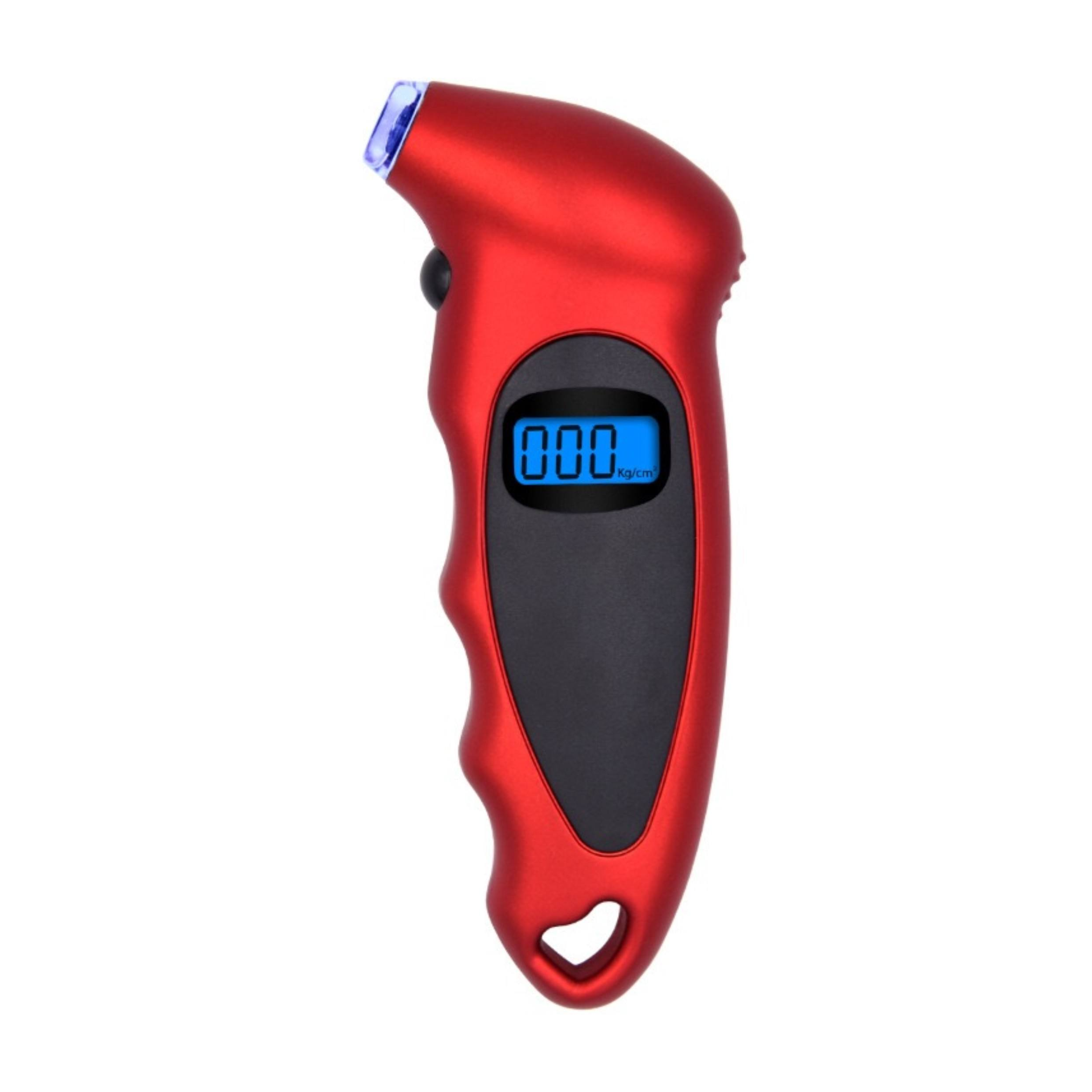 Hot Selling 100 PSI En Non-Slip Grip Auto Backlight Hoge precisie LCD Digitale Bandenspanningsmeter