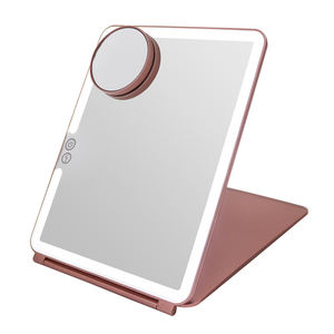 Hot Selling Professional Pad Standing LED Light Make Up Cosmetic Mirror