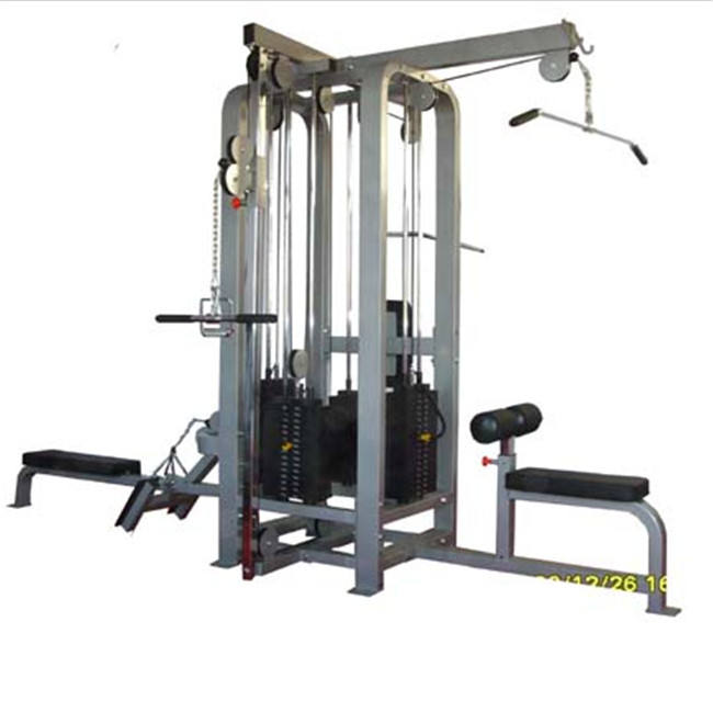good quality commercial equipment 4-station multi cross fit racck gym exercise equipment gym use XR5504A