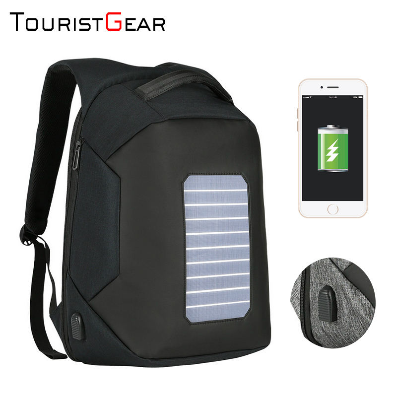 waterproof bagpack men smart anti-theft backpack school bag solar backpacks anti-theft laptop backpack