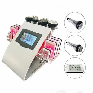 2019 Cavitation sous vide RF lifting du corps cellulite réduction de poids lipo laser 40k ultrasons minceur grosse machine de Cavitation