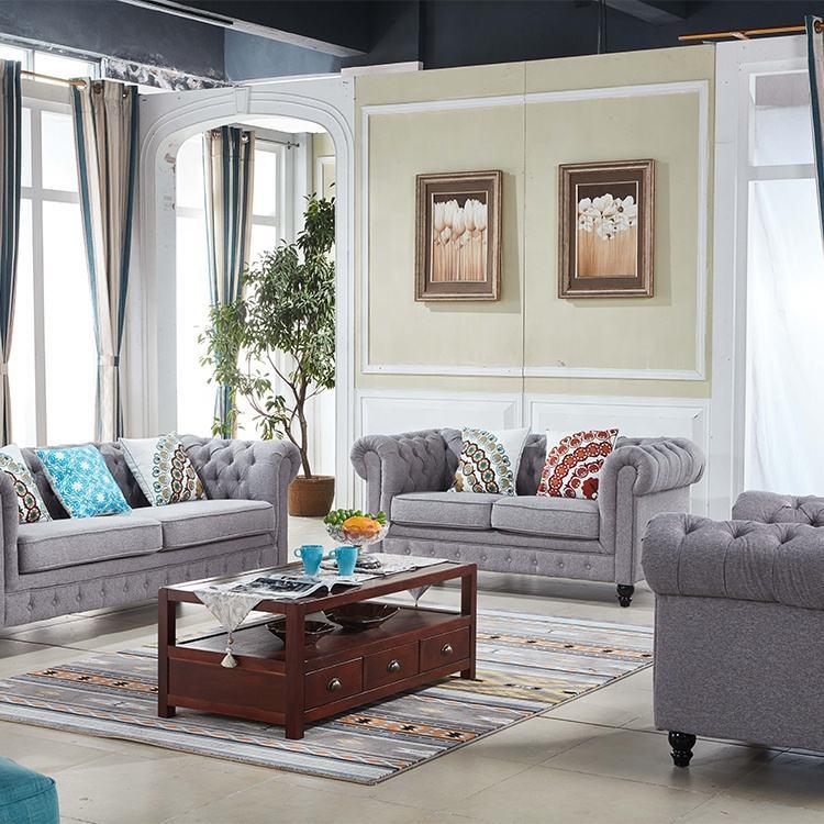 Precio de Venta al por mayor conjunto de sofá 7 plazas nuevo personalizado sofá de la sala de estar sofá seccional