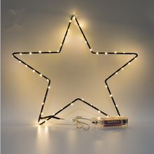 fashion style room party wedding decoration copper wire light metal star