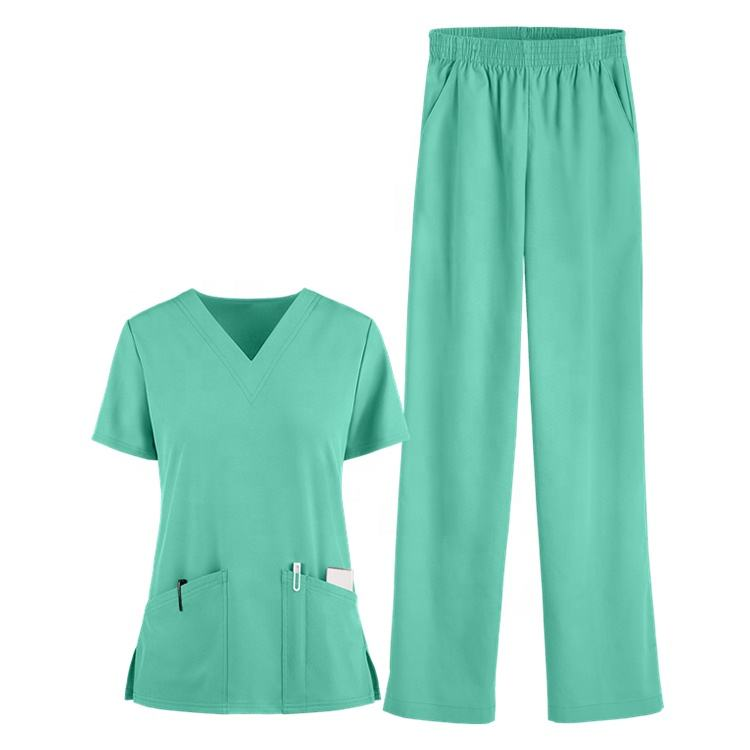 China Superior Großhandel Custom Dental Nursing Scrubs Uniformen Medical Scrub Set