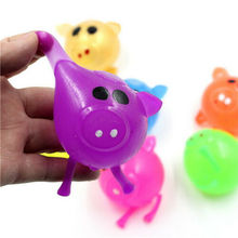 Hot Sale Funny Jello Pig Cute Anti Stress Splat Water Pig Ball Vent Toy Venting Sticky Squishes Stress Relief