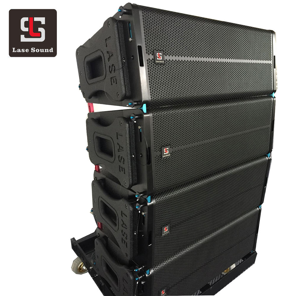 LA-5a 10 Inch Aktif Sistem Audio Amplifier Line Array Didukung Sistem Array Garis