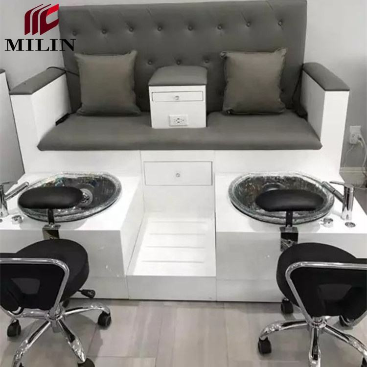 Newest whirlpool spa pedicure chair good quality cheap price pedicure chair massage salon furniture