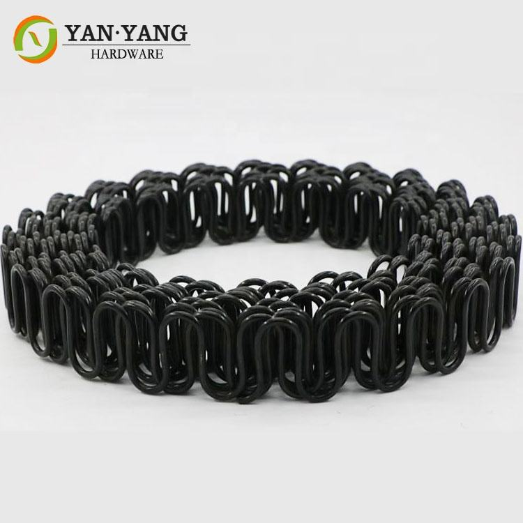 durable high quality manufacturing diameter 3.4mm antirust rolling sinuous sofa spring