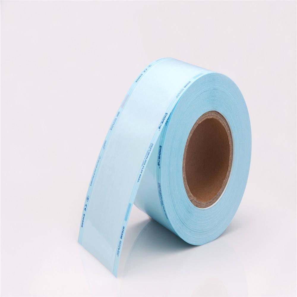 Medico eto sterilizzazione rotolo di imballaggio di tenuta di calore sterilizzazione sacchetti bobina