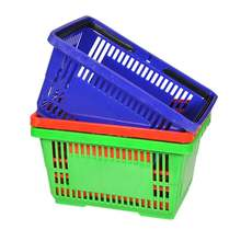 wholesale eco-friendly supermarket shopping basket