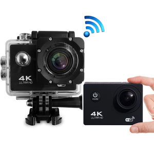 Kamera Aksi Digital 1080P Wifi Tahan Air, Kamera Perekam Video 4K