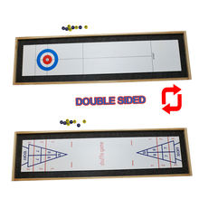 2019 New design 122*34*4.5cm custom logo shuffleboard table game