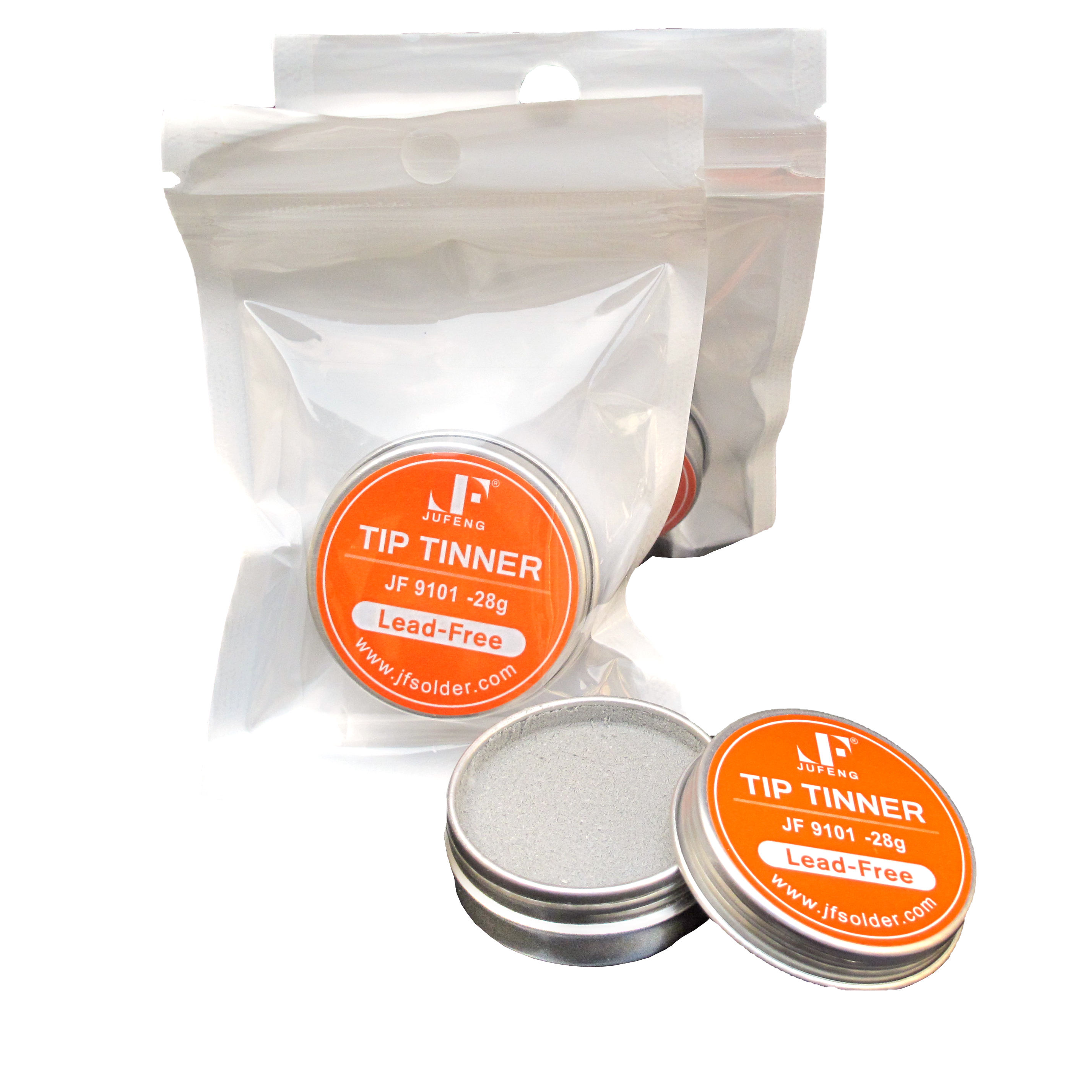 Soldering Iron Tip Tinner Activator Tip Cleaner Remover Lead Free 20 gm....