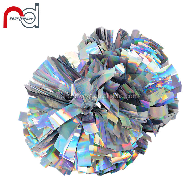 Handheld Poms Cheerleader Cheerleading Cheer Pom for Dance Party